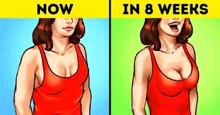 "SEVEN WAYS TO RESTORE SAGGING (fallen) BREAST TO FIRMNESS.  Apart from the passage of time, some factors can cause the sagging of breasts include;   ▶️Multiple pregnancies      ▶️Smoking. causes skin to lose its flexibility and strength.      ▶️Larger, heavier breasts are more likely to sag over time.      ▶️Extreme weight loss.      ▶️Being overweight.      ▶️Overexposure to the sun's UV rays      ▶️Menopause      ▶️Extreme, high-intensity strenuous exercise.      To prevent this sagging and take back your breasts to their original firmness, try ALL SEVEN steps below. None of them alone can restore your breasts but try them together and see them work their magic.      1️⃣. Exercise your whole upper body, not just your chest muscles.       How to Massage your breasts      It's true that training your chest muscles is the key to having firmer and fuller breasts. But technically speaking, you can't ""lift"" the breasts themselves since they consist mostly of fatty tissue and mammary glands. However, you can sculpt the nearby muscles to make the breasts look more toned, but working just your chest muscles won't do the trick. You need to engage your whole upper body to improve your posture and the appearance of your breasts."