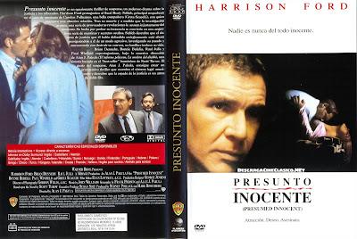 Carátula dvd: Presunto Inocente | 1990 | Presumed Innocent » CineClasico