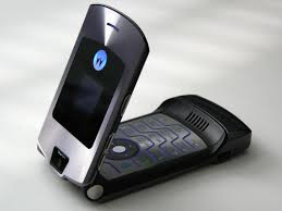 The Flagship of all phones back then - Moto Razr V3