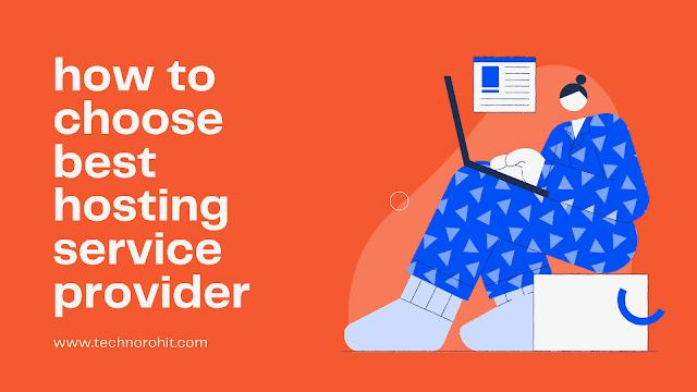 How to choose best hosting provier