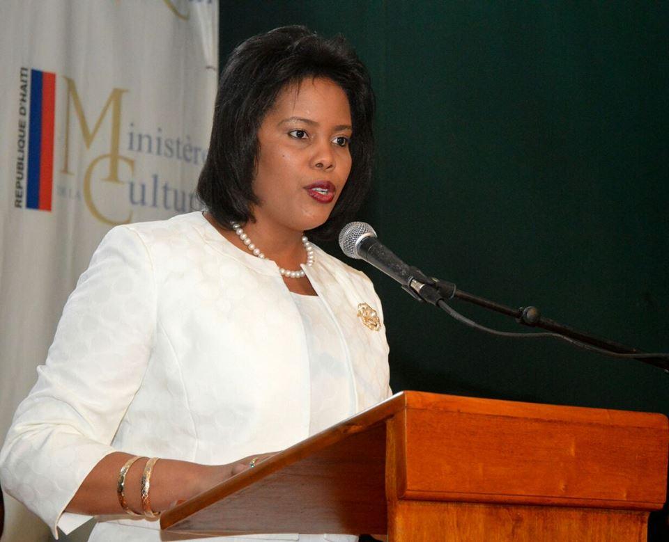 Ministra de  Turismo e Industrias Creativas  de Haití Colombe Jessie Menos visita la República Dominicana desde este domingo