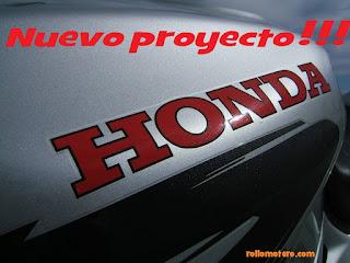 Honda CB500 project
