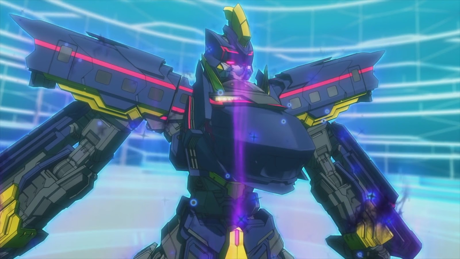 My Shiny Toy Robots Anime Review Shinkansen Robo Henkei