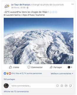 Alpe d'Huez hiver vue aérienne - Tour de France 2018 - ©Laurent Salino