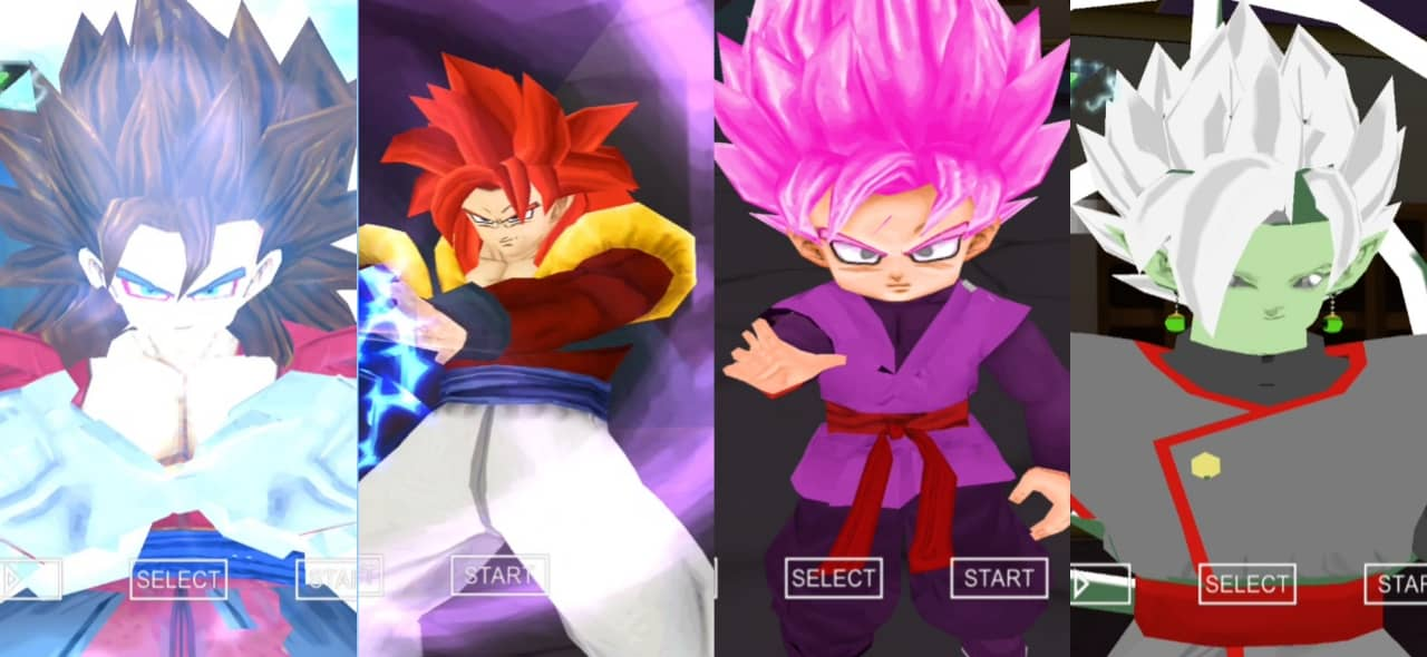 Dragon Ball Heroes Gogeta and Vegito DBZ TTT Mod
