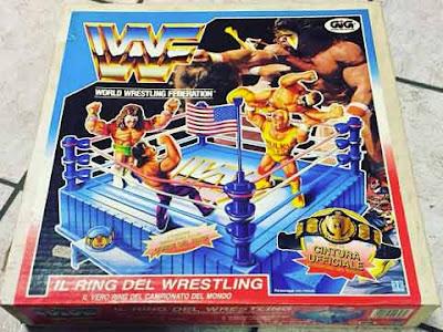 Il ring degli eroi del wrestling gig hasbro wwf italiano