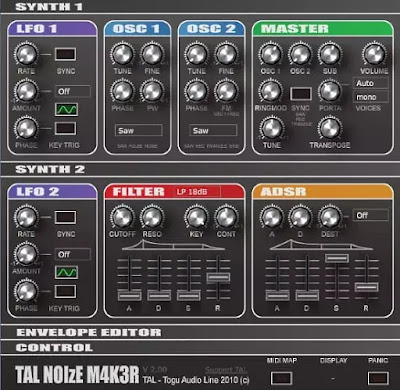 5 software synthesizer audio gratis untuk Windows-3