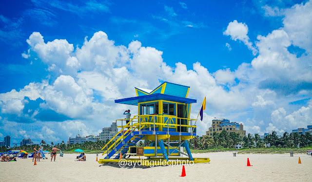 Miami Beach Lifegurd Tower