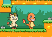 Meow and Charizard Adventure
