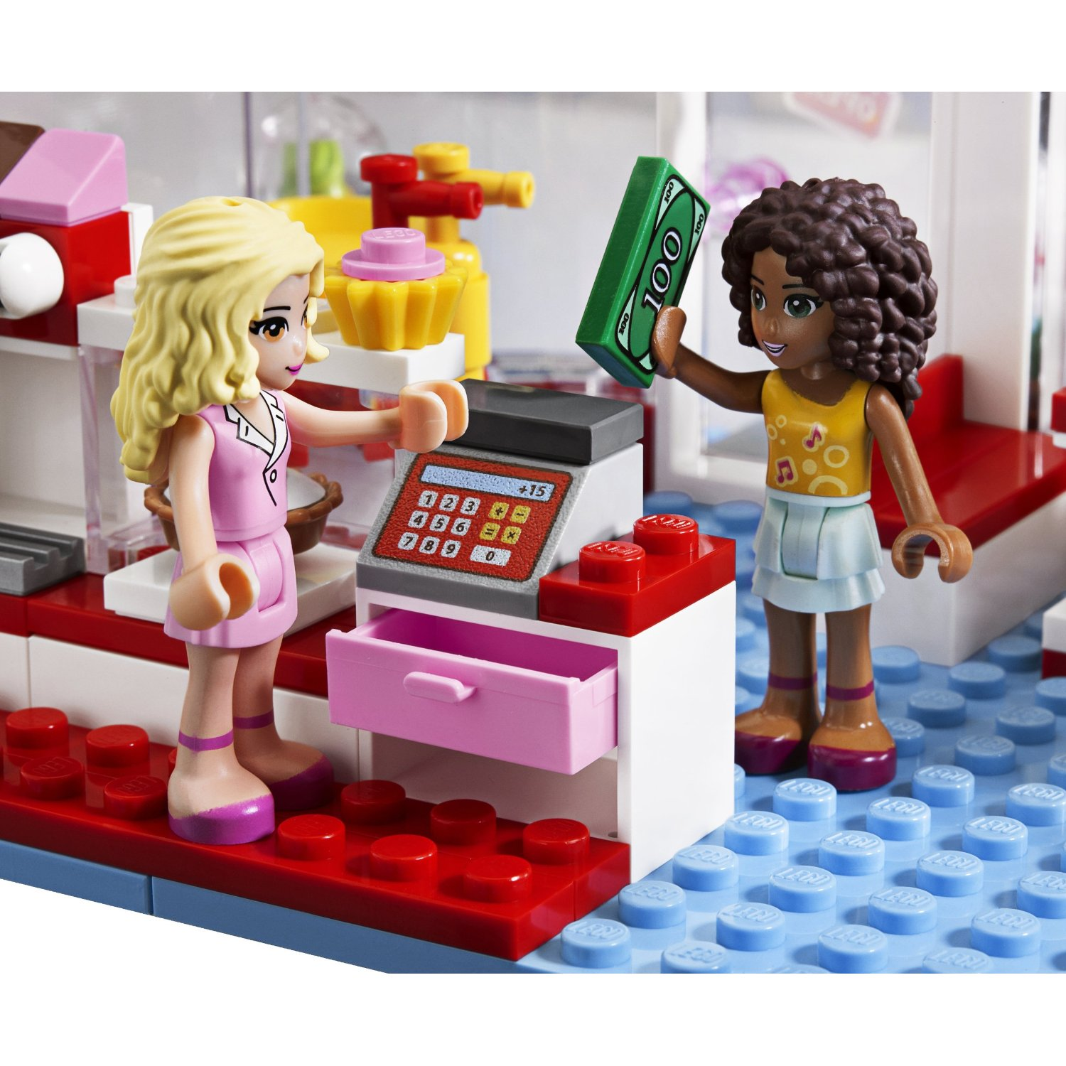 41008 Heartlake Zwembad Lego Friends Olivia39s Cupcake Cafe Set In 2019 Products