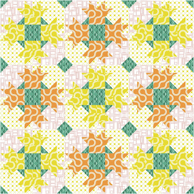 dazzle quilt baby quilt good vibes fabric