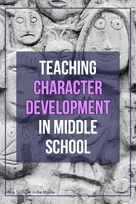 Use these activities with your middle school students to trace how a character changes in a fiction text!