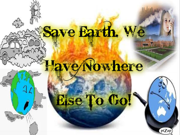 Thesis statement for saving the environment