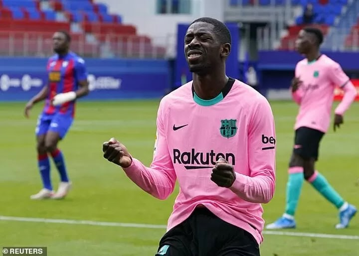 Ousmane Dembele is 'evaluating a new five-year offer' at Barcelona