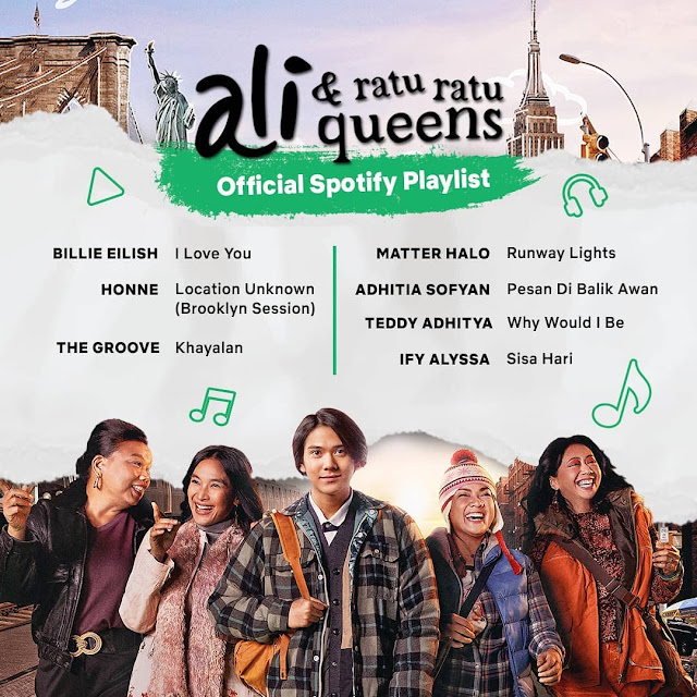 ost film Ali & Ratu Ratu Queens