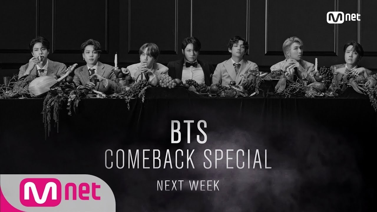 Mnet Will Broadcast BTS Comeback Special with 'Map of the Soul: 7' Album