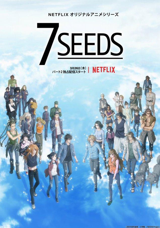 7 Seeds  12/12   Latino/Castellano/Japones + Sub. Esp   Temporada 2   HD Ligero 720p   Mega 