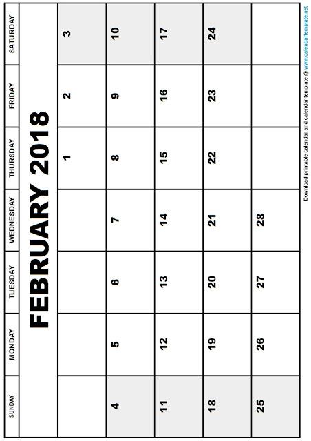 february-month-printable-blank-calendar-2018