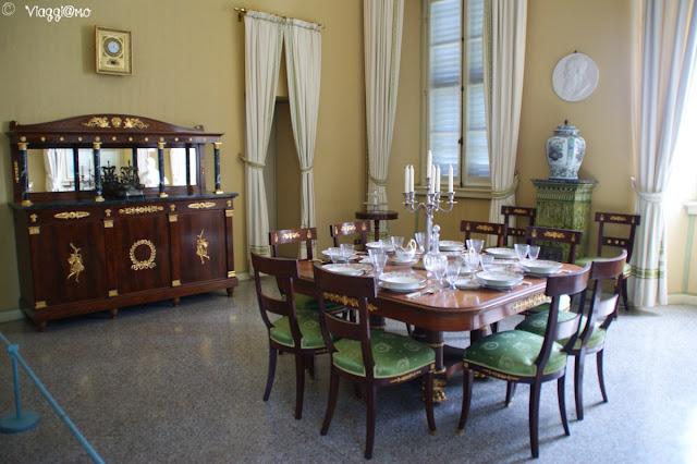 Sala da pranzo di Villa Carlotta