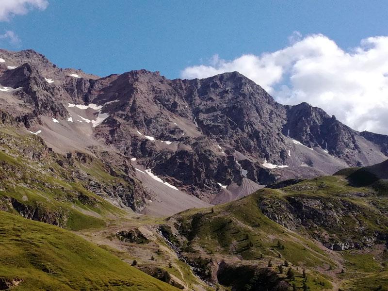 Scendendo dall'Alpe d'Huez