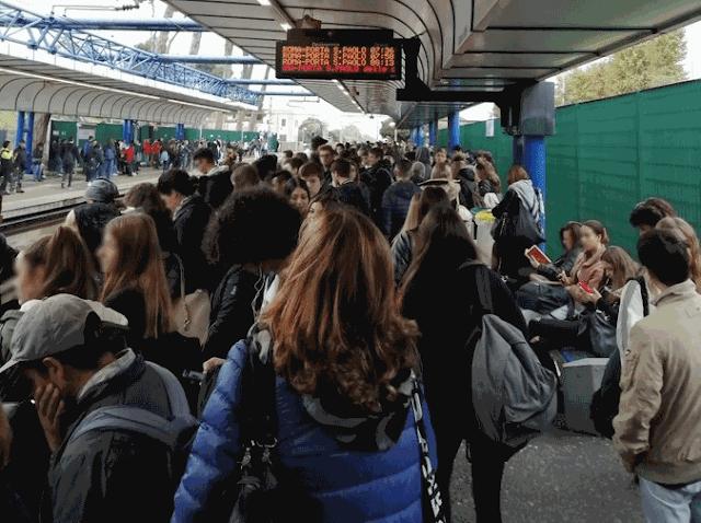 l futuro della Roma-Lido visto dai pendolati