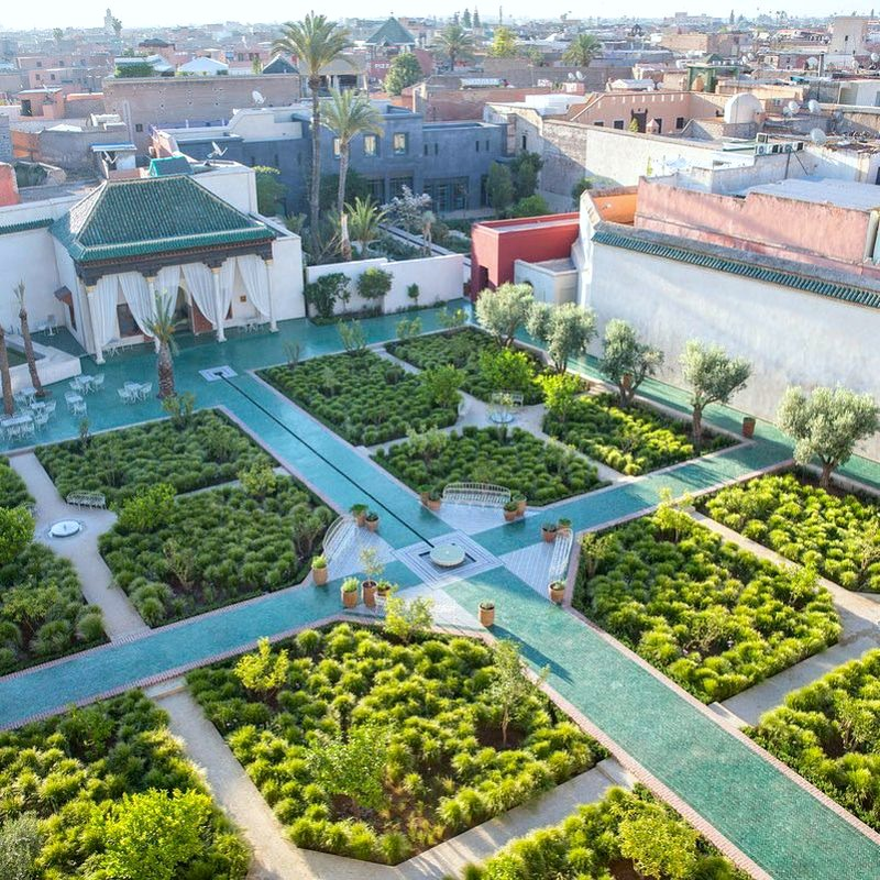 Le jardin secret en marrakech for Jardin islamico