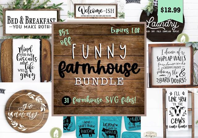 Silhouette SVG, Cricut SVG, Farmhouse SVG designs, Commercial use SVG, Silhouette cut files