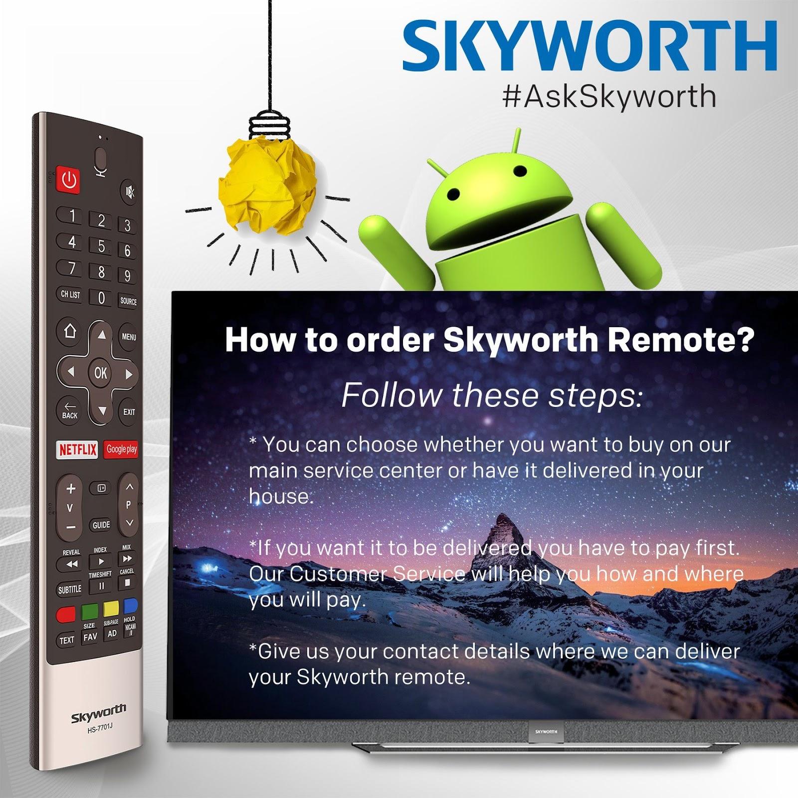 Skyworth Remote Control Price List