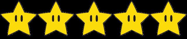 Resultado de imagen de cinco estrellas