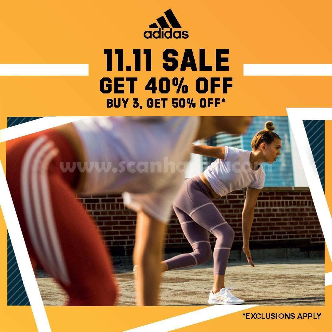 ADIDAS Indonesia 11.11 SALE! Discount 50%