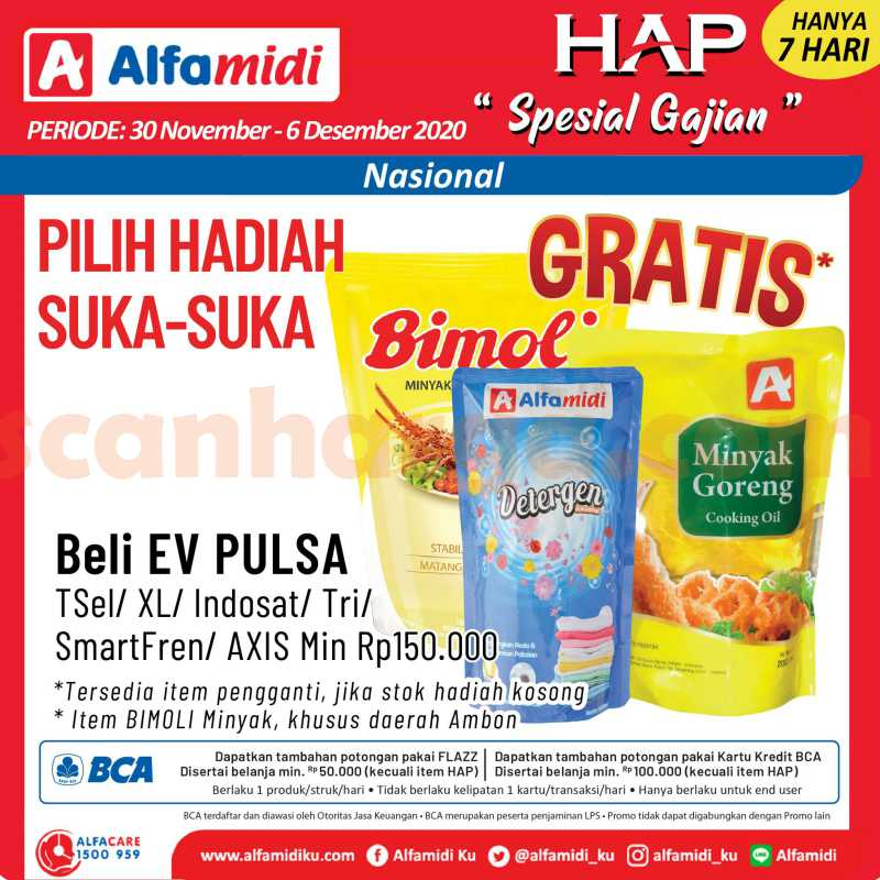 Katalog HAP Promo Alfamidi Satu Pekan 30 November - 6 Desember 2020 8
