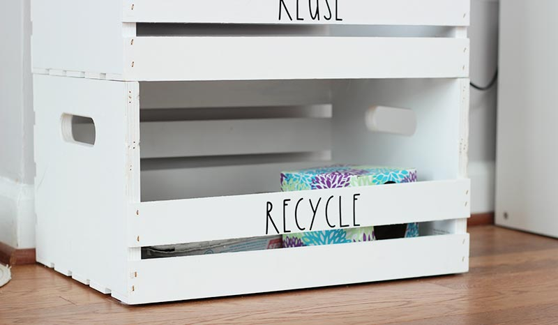 Diy Wooden Recycling Bins You Ll Want In Your House Sunny