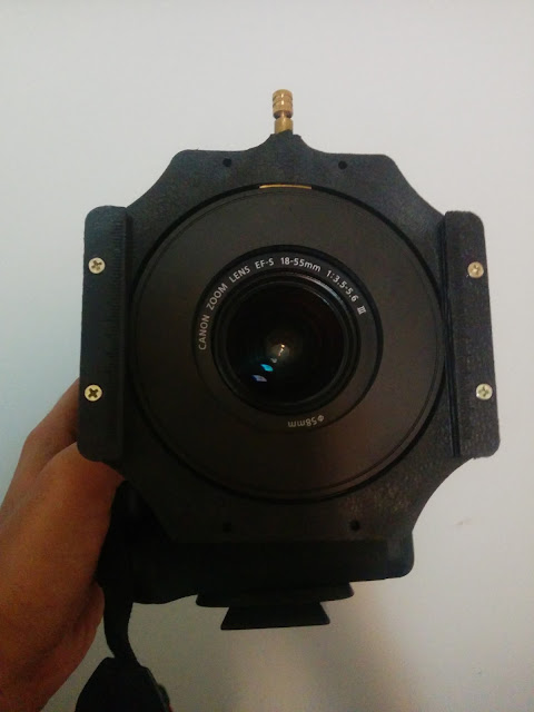 10 stop ND filter set-up