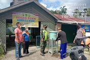 Kopda Umar Nasution Babinsa Koramil 05/Gas Gencarkan Sosialisasi Mencuci Tangan