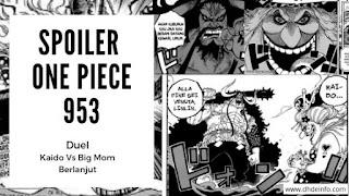 Teori Pembahasan Spoiler One Piece 953  Duel Kaido Dan Big Mom Akan Berlanjut