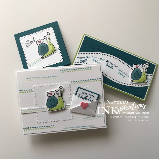 By Angie McKenzie for Global Creative Inkspirations; Click READ or VISIT to go to my blog for details! Featuring the Snailed It Bundle from the January - June 2021 Mini Catalog; #stampinup #handmadecards #naturesinkspirations #snailmail #hellocards #snaileditstampset #snaildies #snaileditbundle #janjun2021minicatalog #onstagetradingpininspired #birthdaycards #patternplaystampset #ittybittygreetingsstampset #ittybittybirthdaysstampset #fourseasonfloralstampset #cardtechniques #coloringwithmarkers #coloringwithblends #globalcreativeinkspirations #gcibloghop #makingotherssmileonecreationatatime