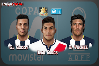 PES 6 Facepack ️Copa Movistar 2018/2019 by YB Facemaker Pes 6
