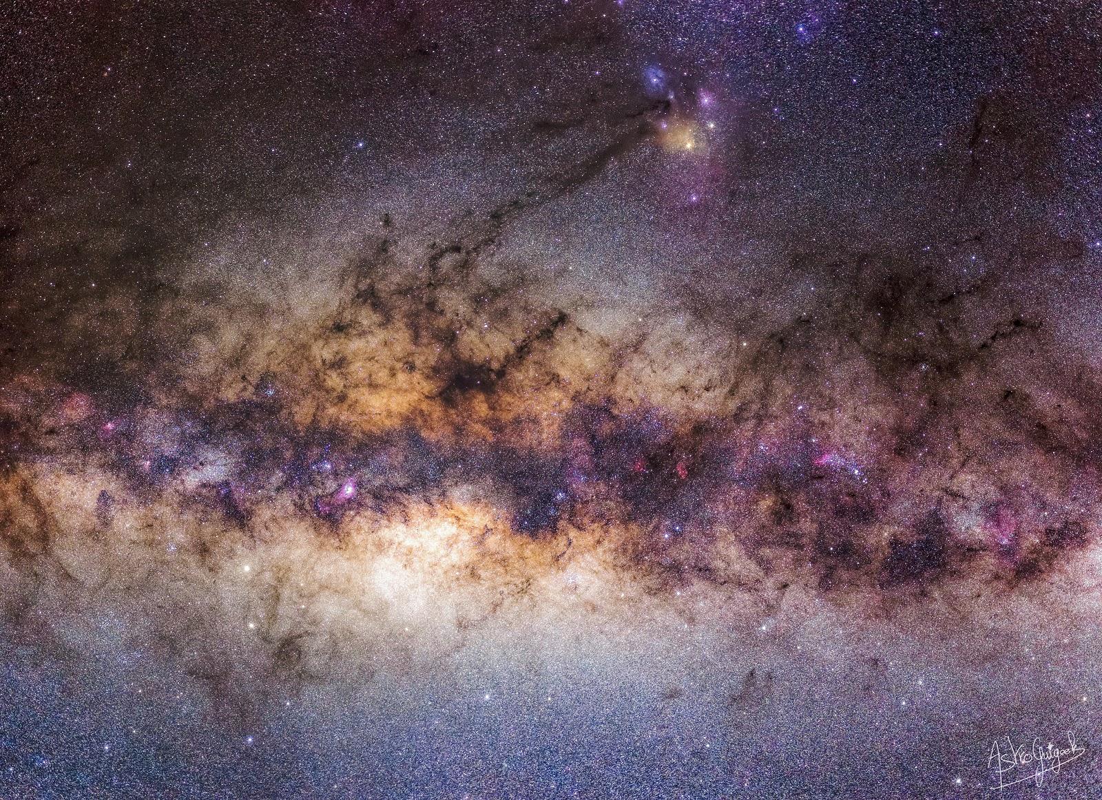 Plongeon au cœur de la Galaxie, dans la région du Sagittaire