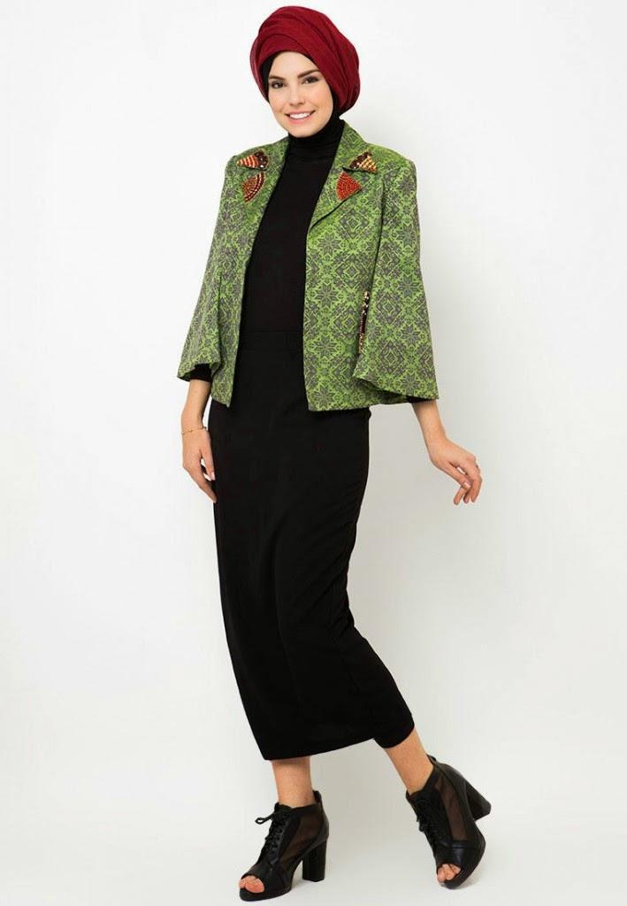 15 Contoh Model Baju Muslim Dian Pelangi Terbaru 2015