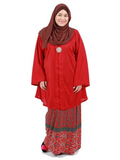 12 Model baju muslim untuk orang gemuk - Info News