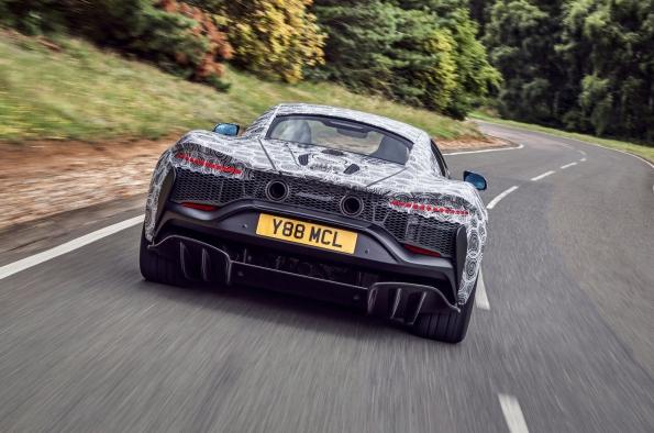 McLaren híbrido HPH chega aos estágios finais de testes