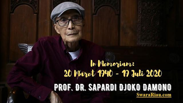 Profil dan Biografi Sapardi Gjoko Damono