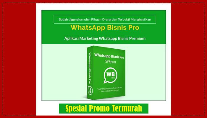 WhatsApp Blast Sender (WB Pro)