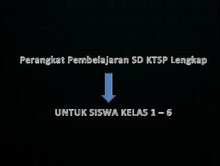 Perangkat Pembelajaran SD KTSP Lengkap