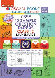 Oswaal Maths Class 12 , 15 Sample Paper Jeebytes.xyz