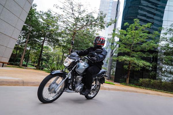Honda CG 160 2022 - Start - Prata
