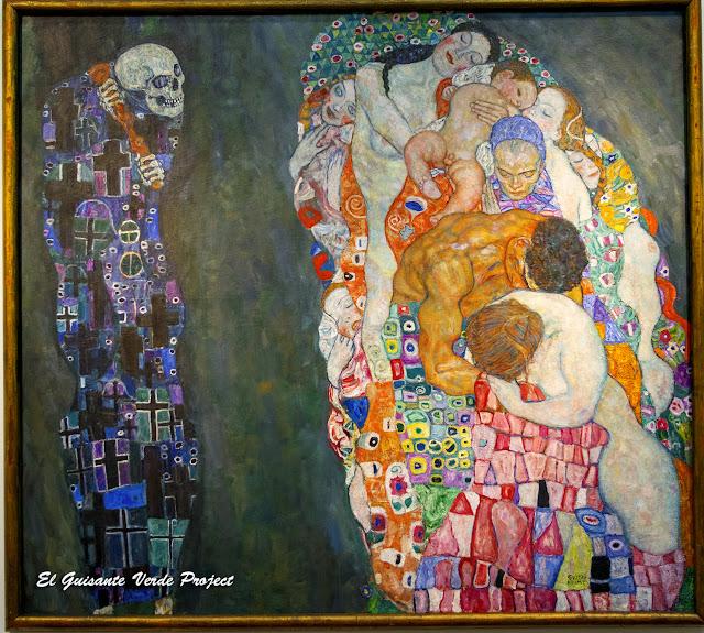 Gustav Klimt: Death and Life - Leopold Museum, Viena por El Guisante Verde Project