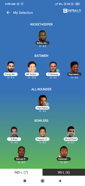 Road Safety World Series 2020: Match 1 – India Legends vs West Indies Legends – Dream11 Fantasy Cricket Tips – Playing XI, Pitch Report & Injury Update