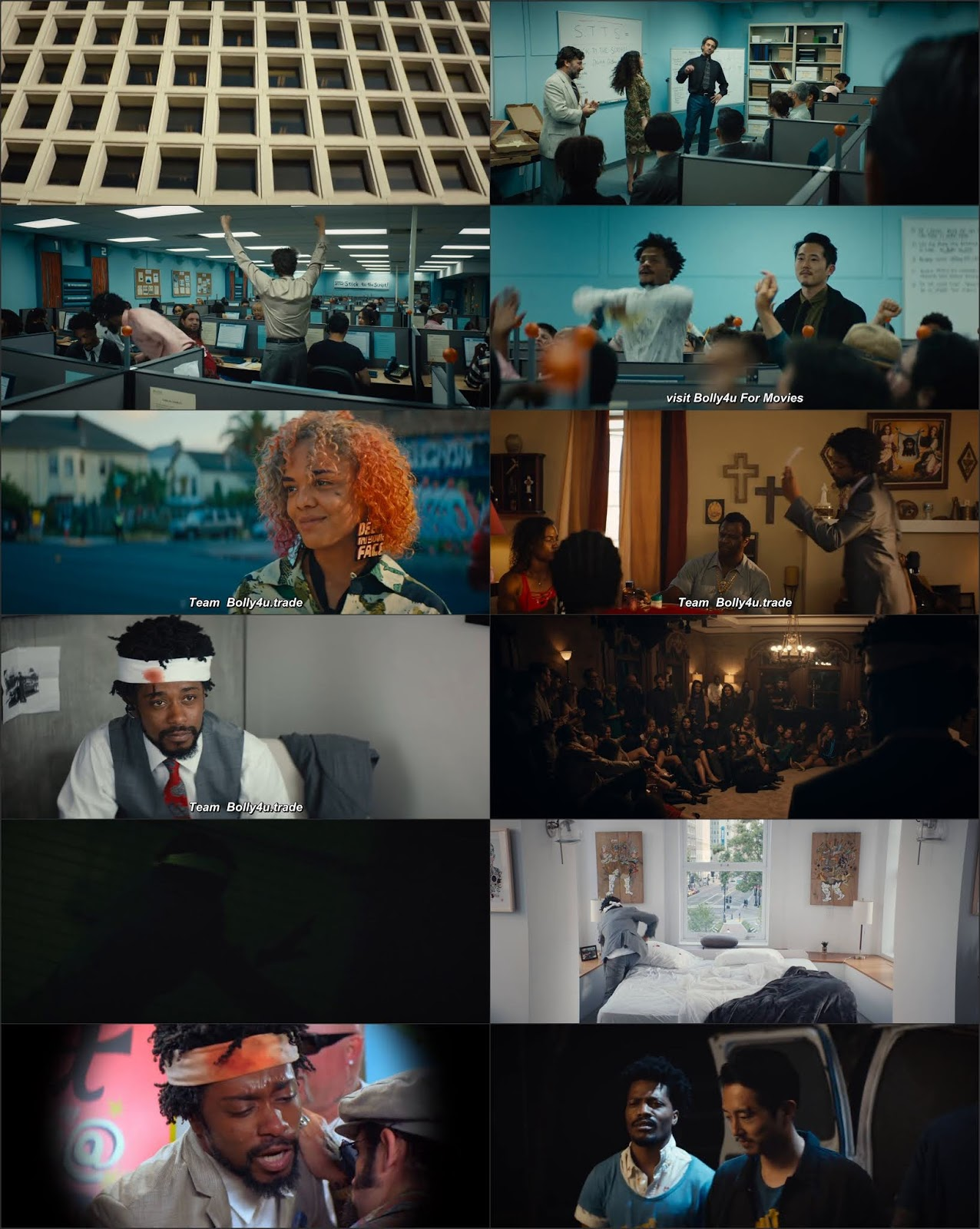 Sorry To Bother You 2018 BRRip 400MB Hindi Dual Audio 480p Download