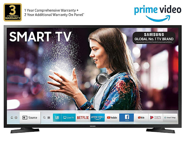 Samsung 108 cm (43 Inches) Full HD LED Smart TV